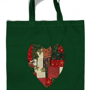 The green shopping bag with