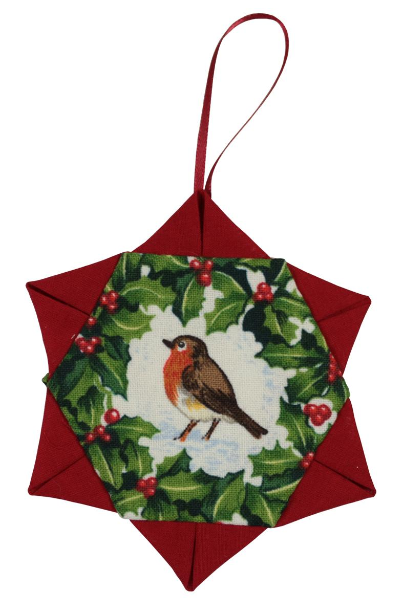 Red Robin Christmas Tree Decorations : Christmas tree decorations make patchwork