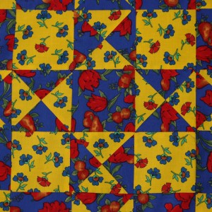 An Easy to Make Quilt Detail